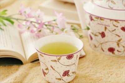 お茶はリラックスに適した飲み物